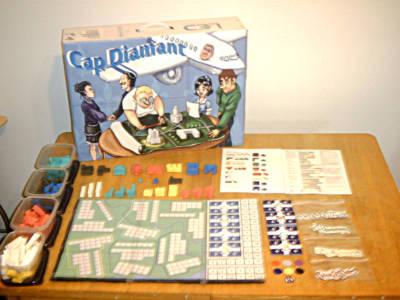 Cap Diamant - Un jeu de société où vous bâtissez la ville de Québec