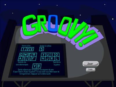 Groovy - Un jeu où vous créez votre propre musique, conçu en 36 heures